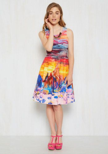 She and Hem | Painted Love Dress $119.99 from Modcloth
