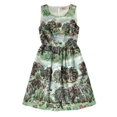 LONDON PARK SLEEVELESS COTTON DRESS £60 from Cath Kidston