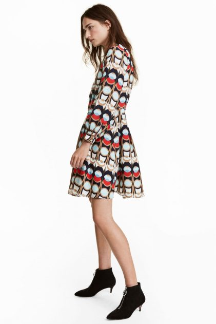 Patterned Dress £29.99 from H&M | She and Hem | Double Thumbs Dresses 91
