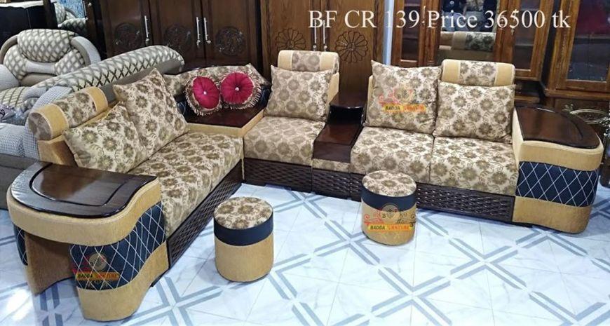 আকর্ষণীয় সোফা সেট ফার্নিচার ২ – Badda Furniture
