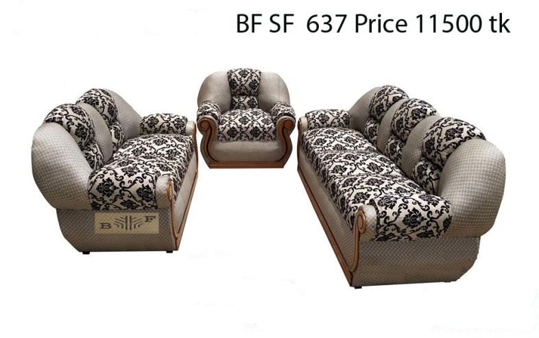 আকর্ষণীয় সোফা সেট ফার্নিচার ৬ l Badda Furniture