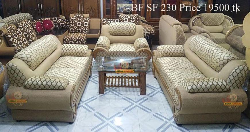আকর্ষণীয় সোফা সেট ফার্নিচার ১ – Badda Furniture