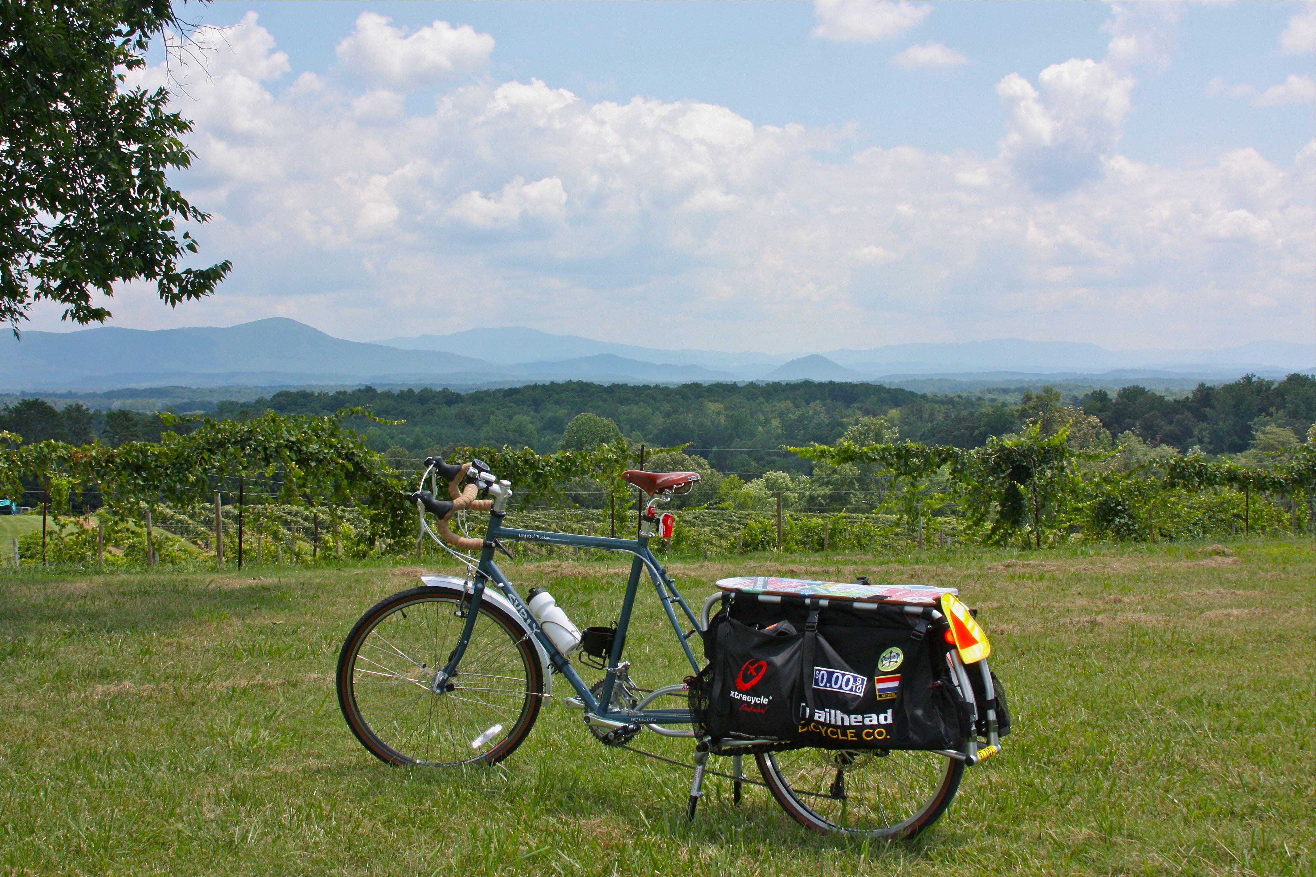 One of the prettiest vistas in the county - Morris Vineyard