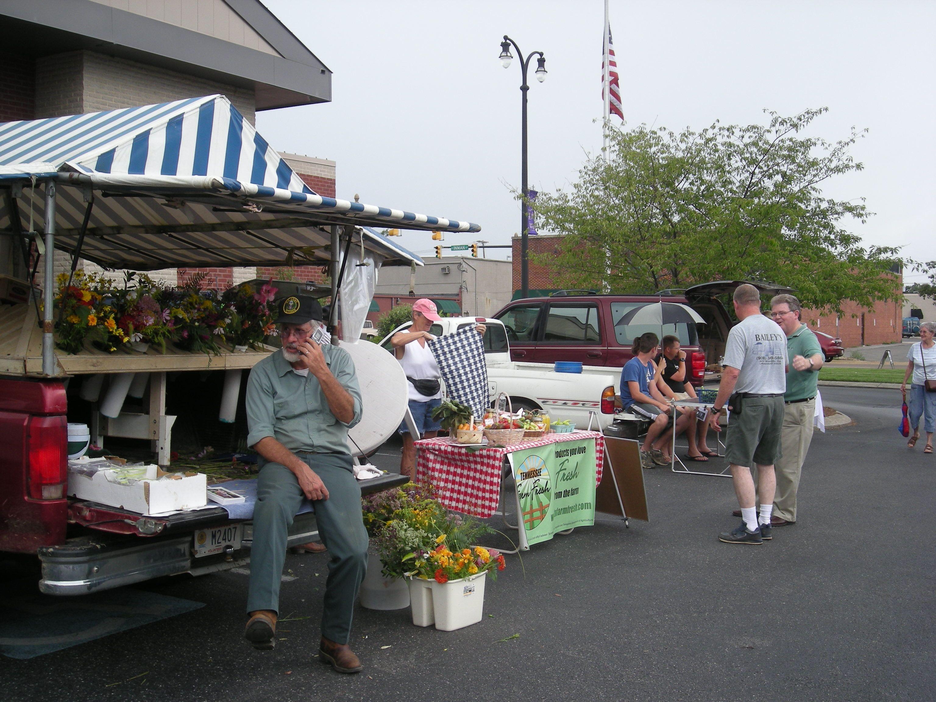farmer's market flowers ...