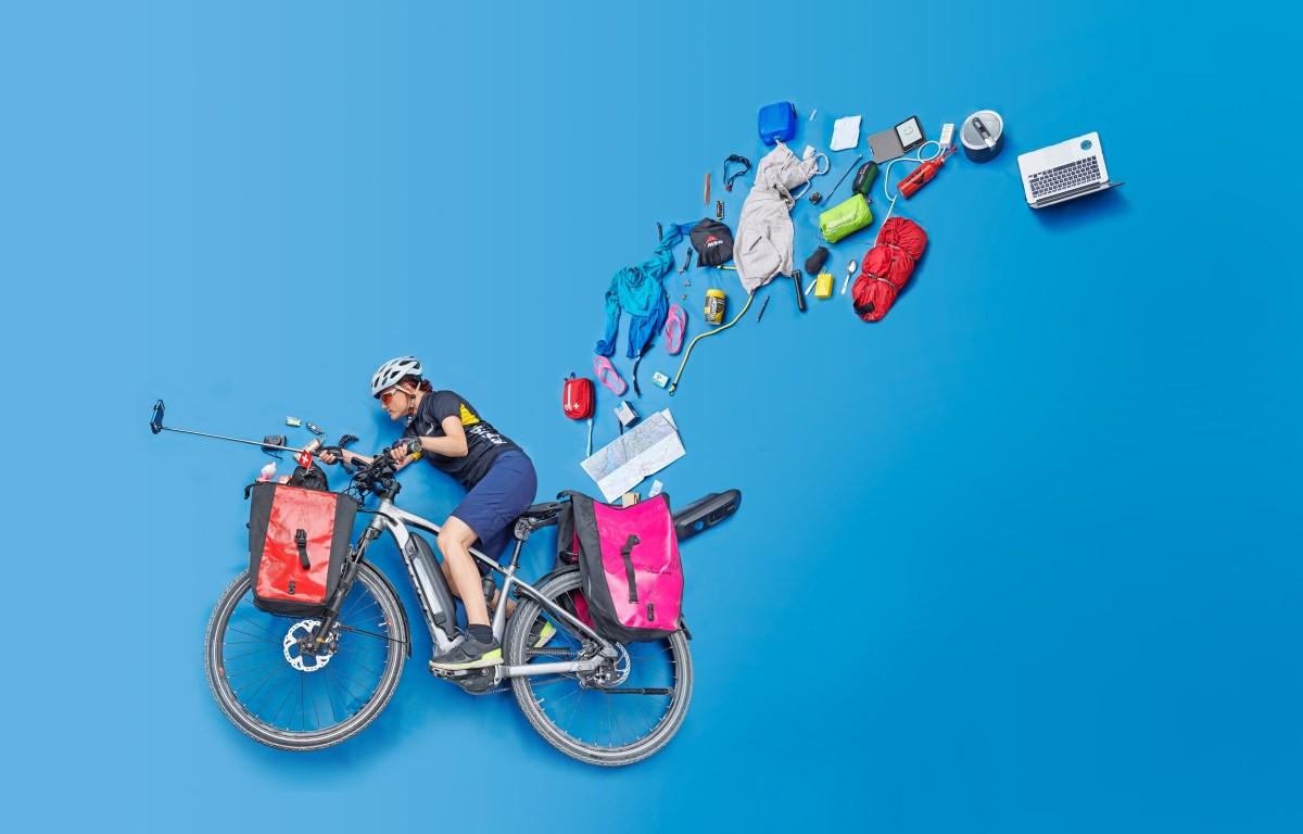 Was ist das genau für ein Bike? Und was verbirgt sich alles in meinen Taschen? (Bild: René Ruis)