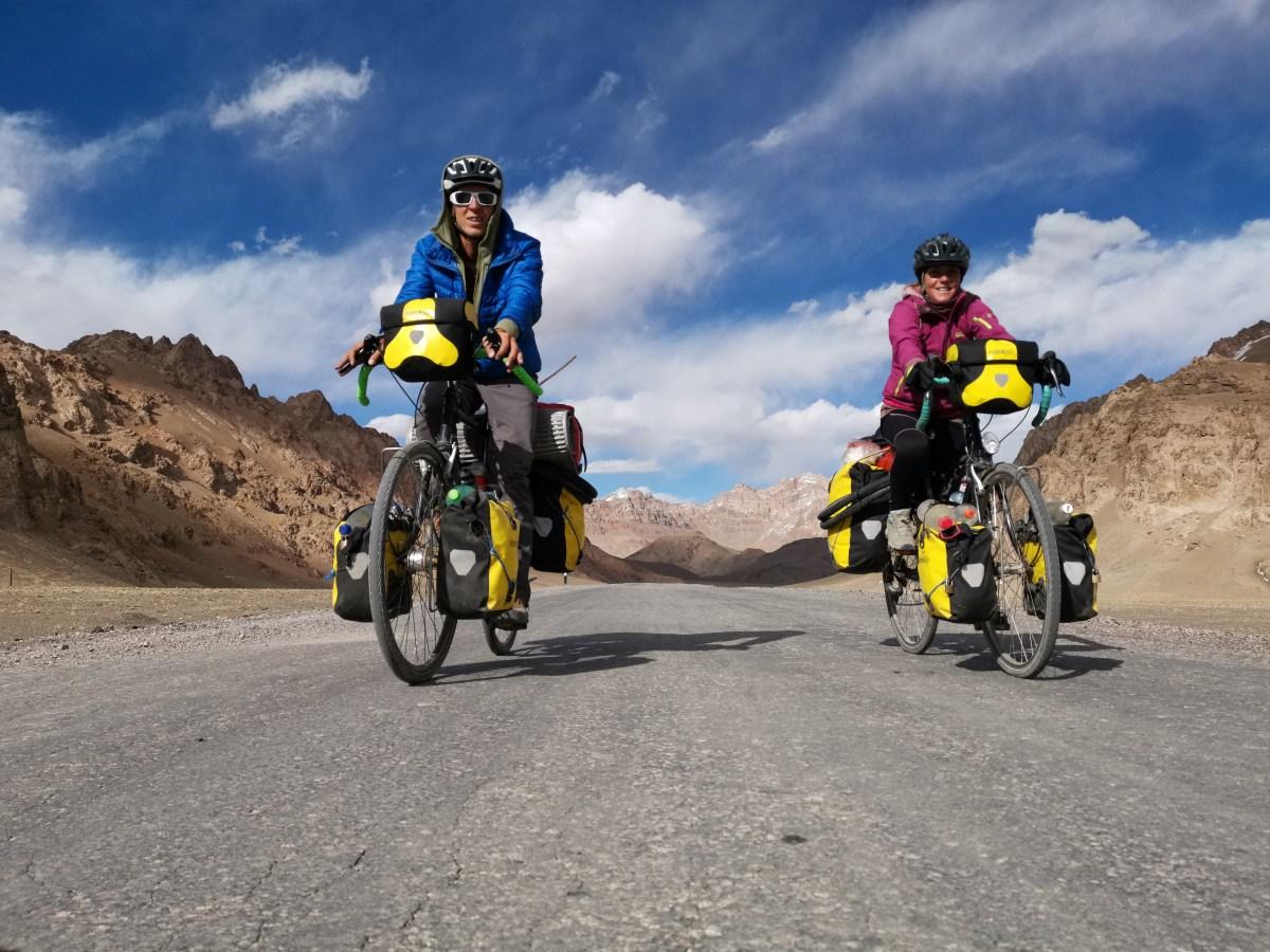 Dominik und Bernadette aus Salzburg: Unterwegs von Indien nach Österreich.