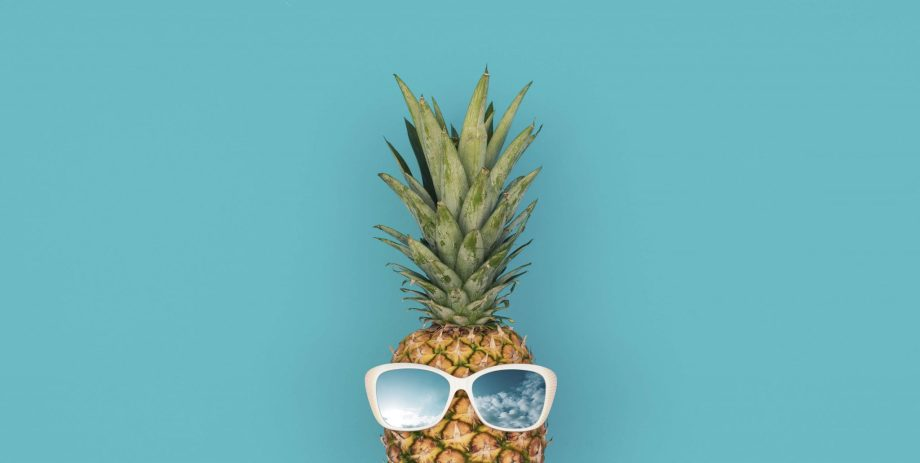 pineapple wearing glasses foods with enzymes for heartburn relief in pregnancy