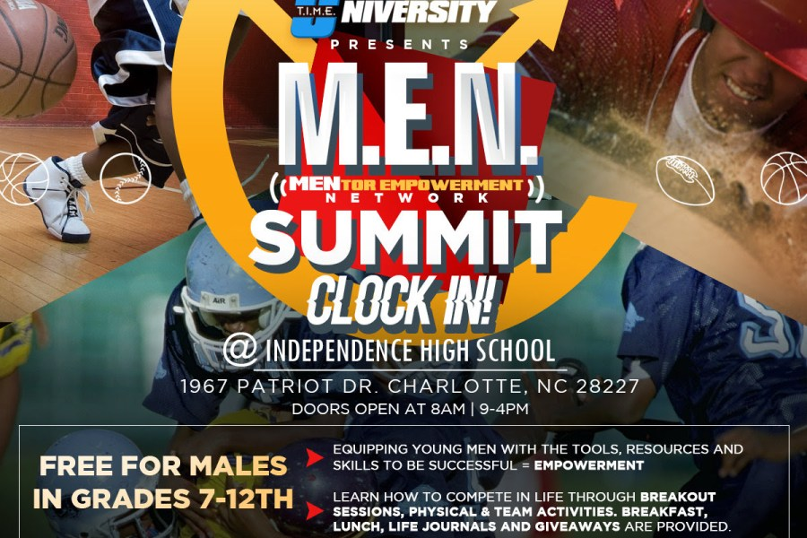 Event: T.I.M.E. University Presents: M.E.N. Summit 2018  (Charlotte, NC)