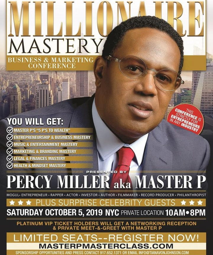 Millionaire Mastery Business & Marketing Conference with