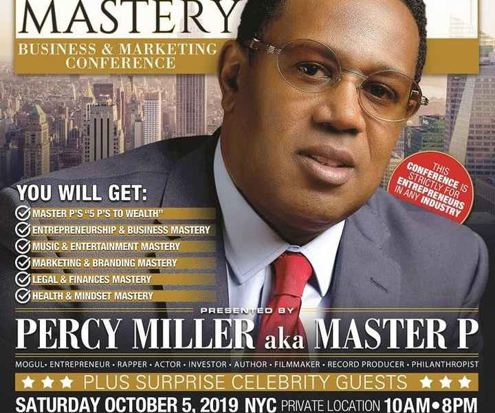 Millionaire Mastery Business & Marketing Conference with Master P
