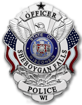 officer badge for sheboygan falls police department