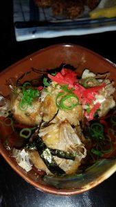 Yum – agedashi takoyaki