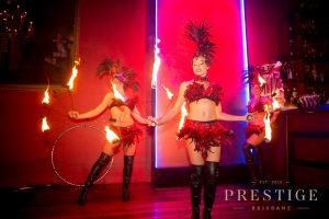 Sizzling entertainment served with cool cocktails