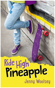 "Jenny's book ""Ride High Pineapple"""