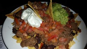 The beef nachos