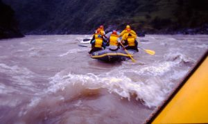 Rafting the Trisuli River