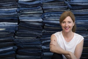 JEANBAG founder, KT Doyle