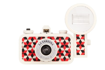 lomography camera, la sardinia cubic, printer and tailor, hereford