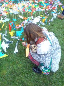 orgigami fish Hereford River Carnival 2016, Wye Festival, River Wye