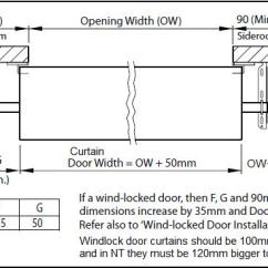 Roller Garage Door Wiring Diagram Drayton Wireless Room Stat Great Installation Of Doors For Your Shed Or Home Taurean Domestic