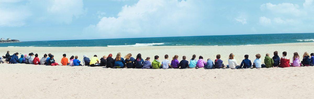 SHED Children's Campus beach field trip