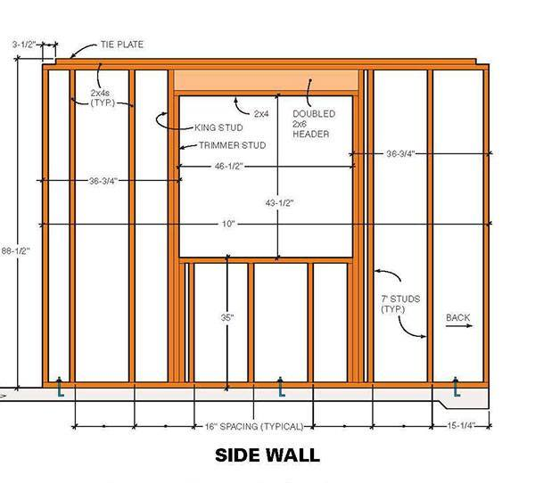 1010 Two Storey Shed Plans Amp Blueprints For Large Gable Shed