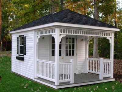 8x12 Hip Roof Shed Plans Blueprints For Cabana Style Shed