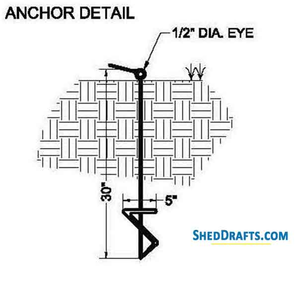 12×12 Storage Shed Plans Blueprints For Durable Patio Shed