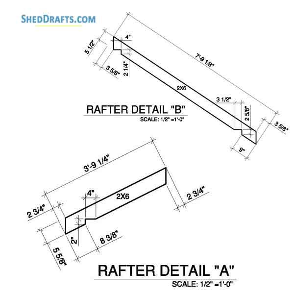 8×8 Clerestory Potting Shed Plans Blueprints To Assemble A