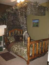 How to decorate a kids room in a hunting realtree camo ...