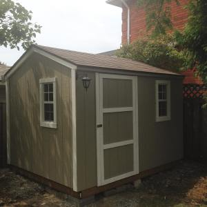 10 x 8 Cottage Workshop Shed