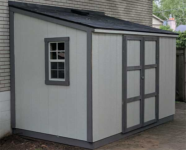 Single Slope Shed Shed In A Day