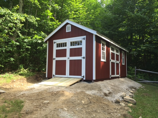 Recent jobs shed installation