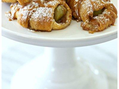 Caramel Apple Pie Crossants