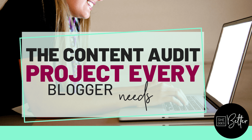 Content Audit Project