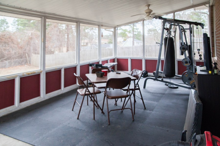 First Rental Property Screened In Porch After