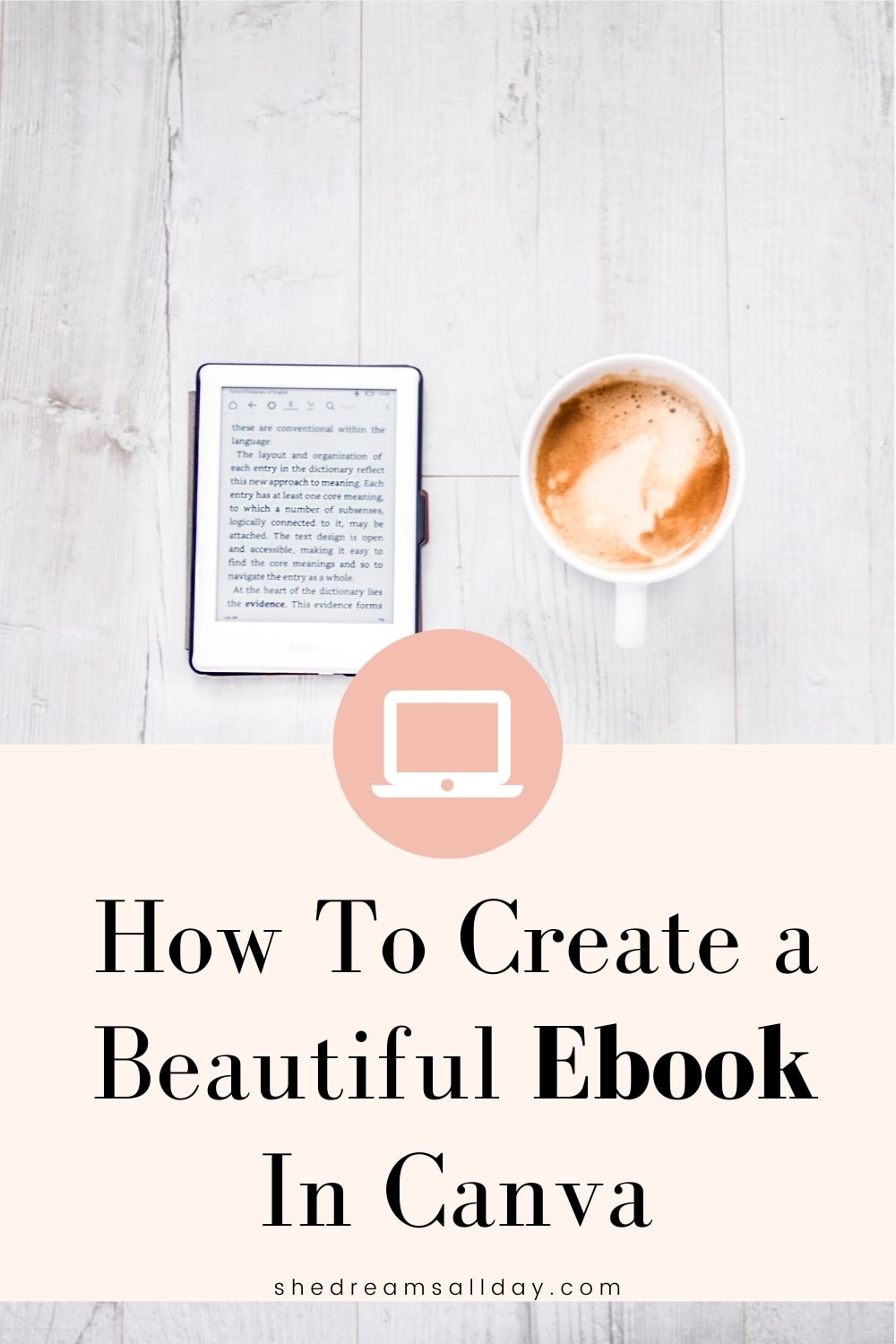 How to create an ebook in Canva