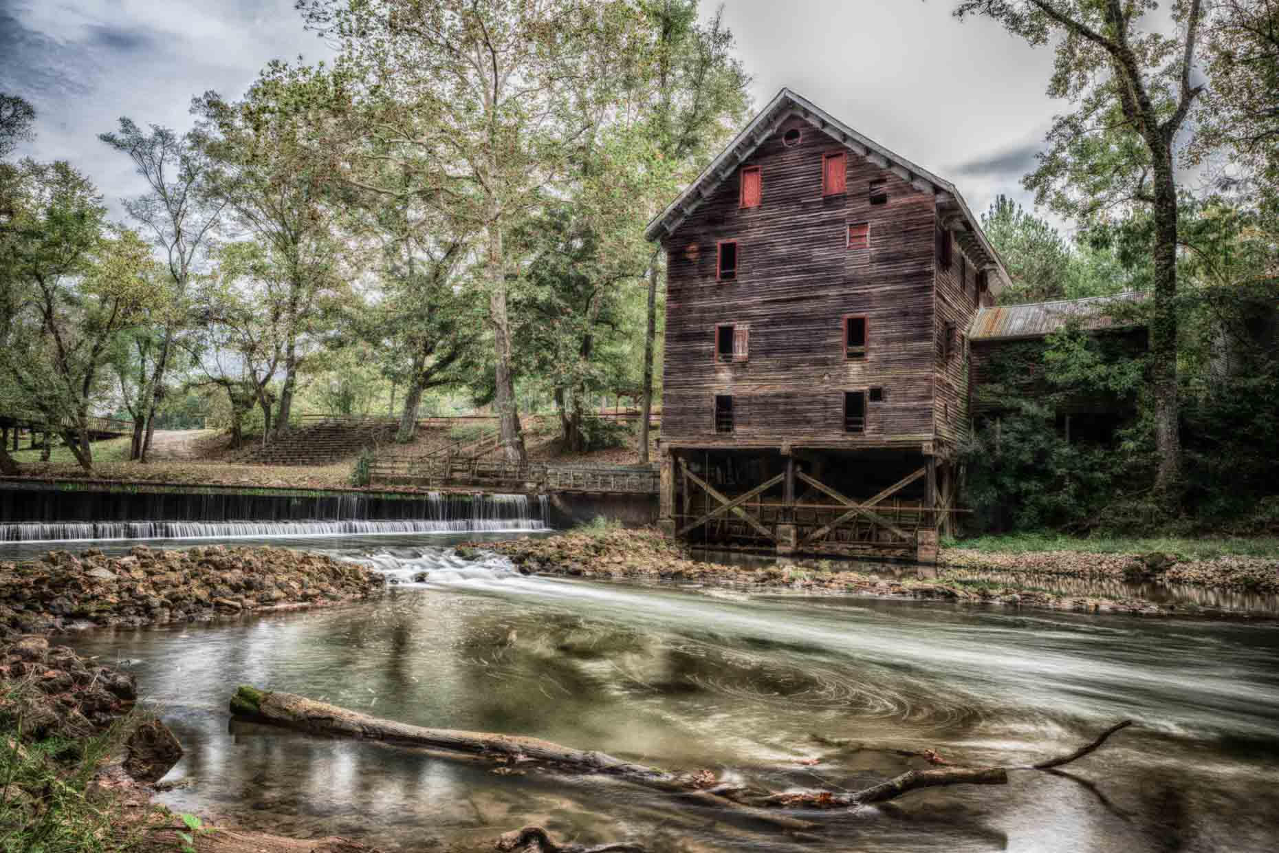 Kymulga Grist Mill and Covered Bridge  Shedrick Flowers
