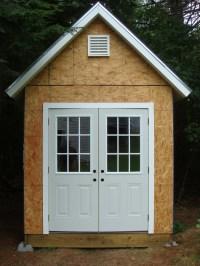DIY Building  Shed Door Design Tips | Shed Blueprints