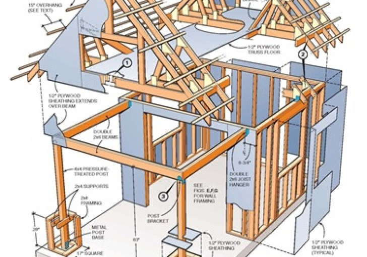12x16 Shed Plans Two Story