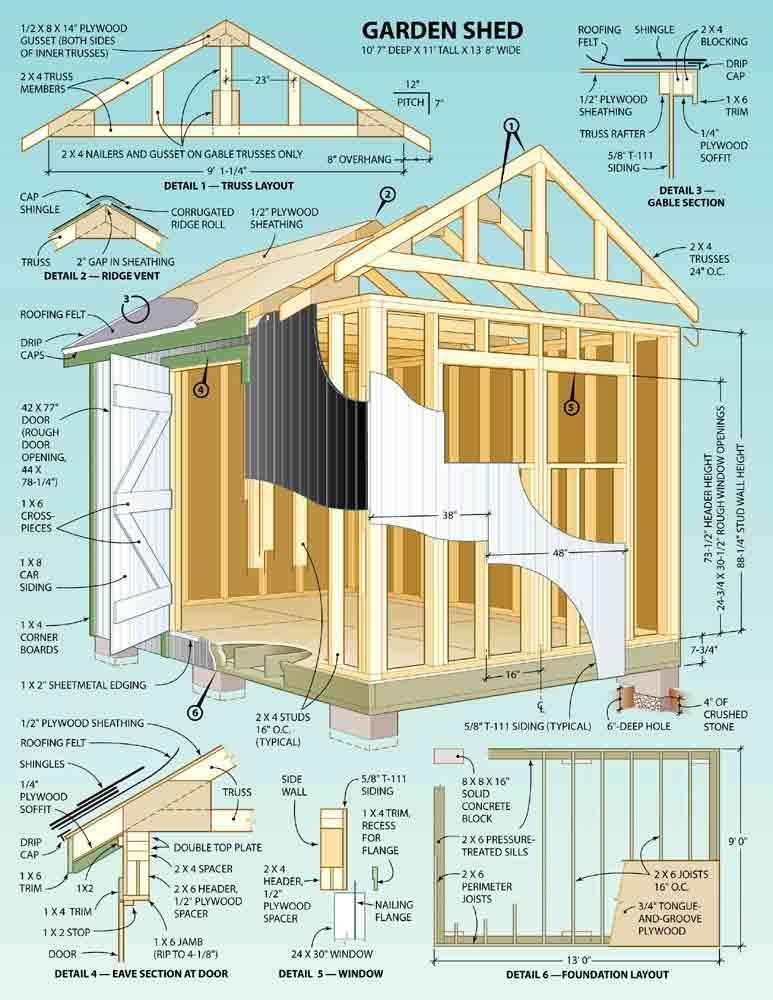 sstorage building plans