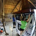 Installing metal eave trim profiles