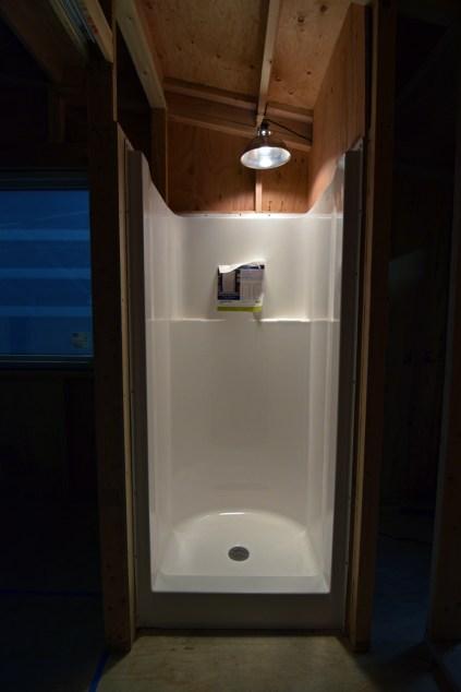 Finished Shower Unit Installed!