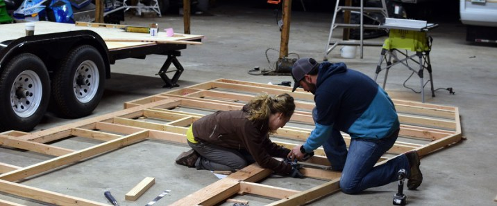 framing the first wall