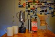 Off grid coffee snobs.