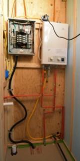 Electrical & Plumbing progress