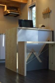 Peninsula counter and bench