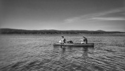 Open water on the way to Jones Island, WA June 2016