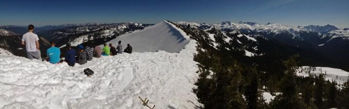 Hogsback Mountain SkiBQ. April, 2016