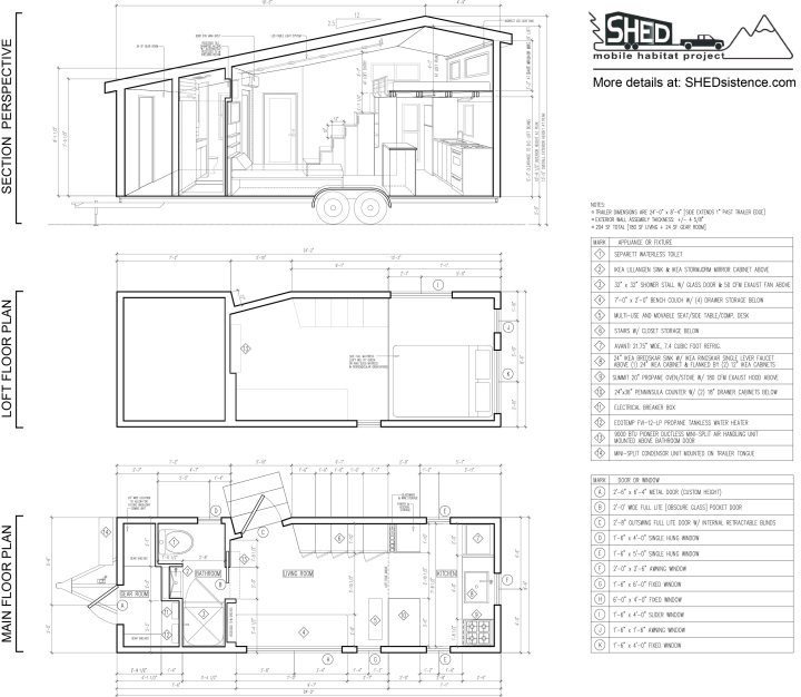 Free Shed Tiny House Floor Plan Release